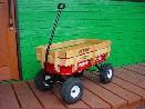 /#32 All−Terrain Steel&Wood Wagon