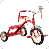 /#33 Classic Red Tricycle 12インチ