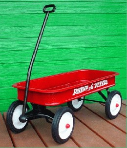 /#18 Classic Red Wagon
