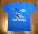 /ロードランナー ホイールTシャツ ブルー