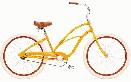 /エレクトラ 自転車 クルーザー(レディース)カスタム1 オレンジ