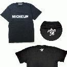 /MICHELIN Tシャツ ロゴ ブラック