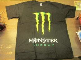 /MONSTER TシャツBK