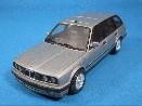 /ミニチャンプス BMW 3シリーズ TOURING 1989 シルバー