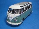 /ミニチャンプス VW T1 SAMBA BUS 1961 ターコイズ/ブルーホワイト