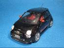 /スパーク フィアット 500 アバルト (2008)  ブラック