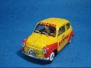 /ブルム FIAT 600 PASTA BUITONI 1955 イエロー/レッド