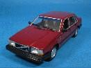 /ミニチャンプス  ボルボ 740 1986 レッドメタリック