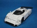 /hpi  ジャガー XJR-9 プレーンカラーモデル ホワイト 静岡ホビーショープレート付