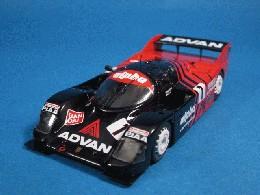 スパーク KBモデル アドバン alpha ポルシェ 962C 1986富士1000kmWIN #1