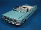 /スパーク シボレー インパラ コンバーチブル 1959 ブルー レジン製