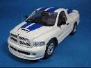 /スパーク ダッジ ラム SRT-10記念モデル 2005 ホワイト/ブルーストライプ