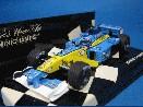 /ミニチャンプス ルノー 2002  F1 TEAM R202 F1 J.トゥルーリ