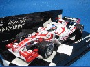 /ミニチャンプス  スーパーアグリ ホンダ SA06 2006 日本GP #22 佐藤琢磨