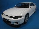 /オートアート 1/18 日産 スカイライン GT-R R33 V-SPEC ホワイト