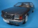/オートアート メルセデスベンツ 500SECクーペ 1986 ブラック