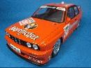/ミニチャンプス BMW M3 TEAM LINDER  JAGERMEISTER  DTM 1992