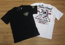 /ローブローナックル 半袖Tシャツ 「インディアンミッキー」