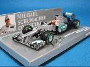 /ミニチャンプス  メルセデス AMG ペトロナス W03 2012 ブラジルGP#7 ラストレース