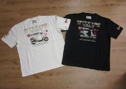 /カミナリ 半袖Tシャツ カミナリオート商会 【パッソーラ風】KMT-91☆