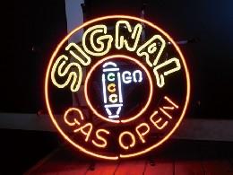 /ネオンサイン  【SIGNAL GAS】 シグナルガス オープン