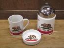 /カリフォルニア リパブリック マグカップ&灰皿