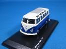/京商  フォルクスワーゲン タイプ2 1961 ブルー/ホワイトルーフ/グレーサンルーフ