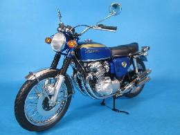 ミニチャンプス ホンダ CB750 1968 ブルー