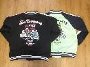 /テッドマン × カミナリコラボ Bike&Devils ジップアップジャージ TDKMJS-112