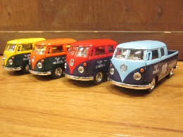 /VW バス ダブルキャブ ピックアップ 1963